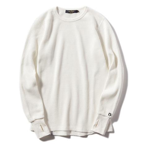 【narifuri】サーマルロングTシャツ