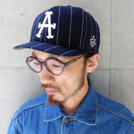 【ALDIES】Tweed A Cap(NAVY)