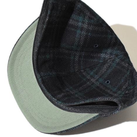 【ALDIES】Tweed A Cap(BLACK)