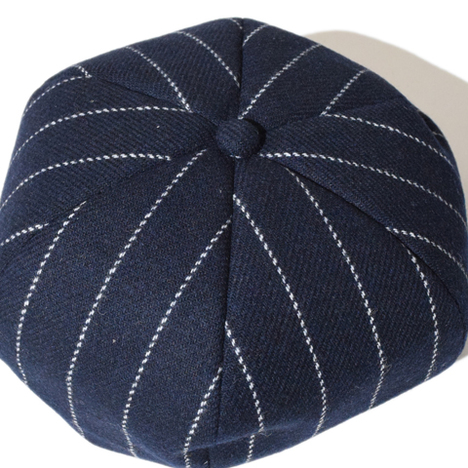 【ALDIES】Tweed Beret(NAVY)