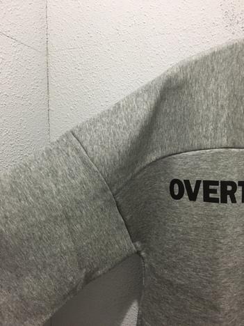 【OVER THE STRiPES】ダンボールニットトレーナー