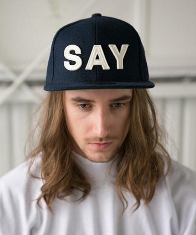 """【SAY】WOOL BASEBALL CAP """"FELT-SAY"""""""
