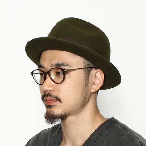 【C-PLUS HEAD WEARS】A-PINCH HAT/MID BRIM