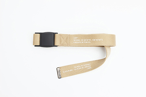 【SAY】MAGNETIC SLIDE BUCKLE ARMY BELT