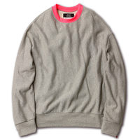 【SAY】NEON RIB BIG SWEAT
