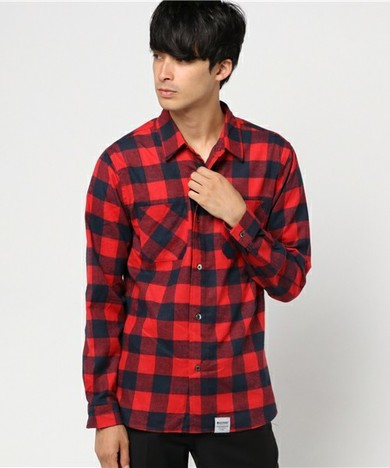 【MAGIC NUMBER】 BLOCK CHECK SHIRT