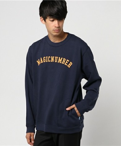 【MAGIC NUMBER】 BASIC LOOPBACK PULLOVER