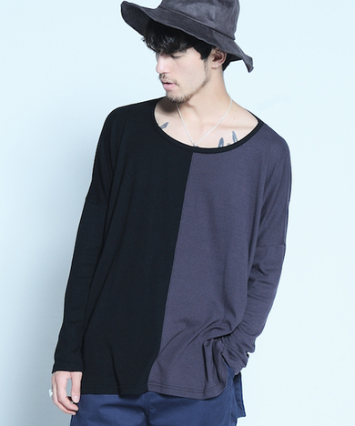 【SALE30%OFF★VIRGO】2face big knit