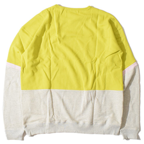 【ALDIES】Sleeve Line Big Sweat