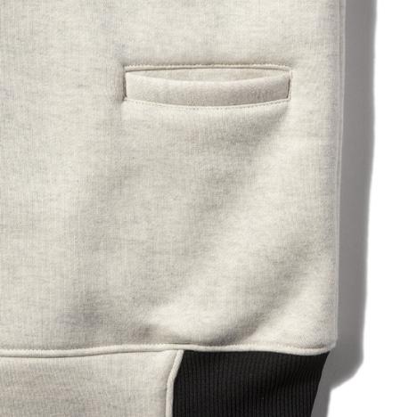 【narifuri】バックフリースボンバージャケット