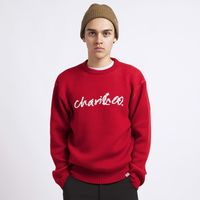 【CHARI&CO】CONNIE SCRIPT CREWNECK KNIT