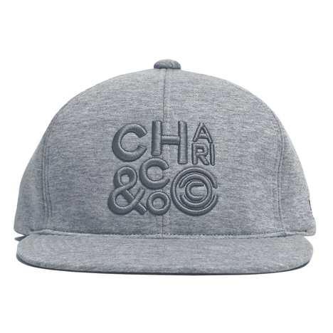 【CHARI&CO】CLUSTER LOGO BOND TECH SNAPBACK