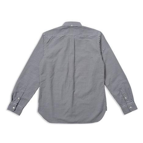 【SONTAKU】洗いざらしオックスフォードギンガムチェックBDシャツ