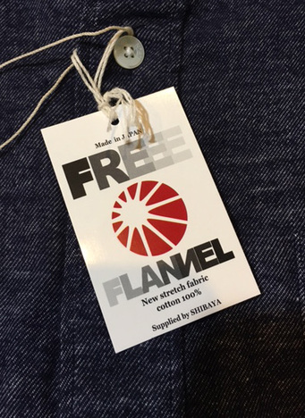 【SONTAKU】FREE FLANNEL BD SHIRT
