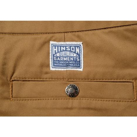 【HINSON×SONTAKU】シュッと見えるストレッチイージーパンツ
