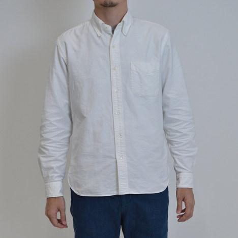 【SONTAKU】洗いざらしオックスフォードBDシャツ