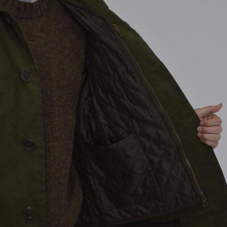 【SONTAKU】ひっくり返る4WAYステンカラーコート