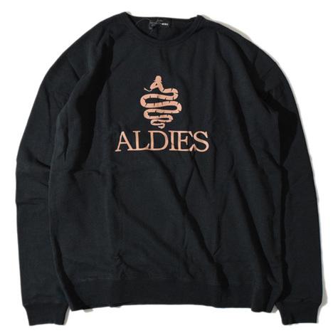 【ALDIES】Aldies Big Sweat(BLACK)