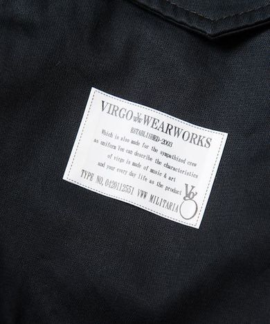 【SALE30%OFF★VIRGO】Big square hoodie jkt
