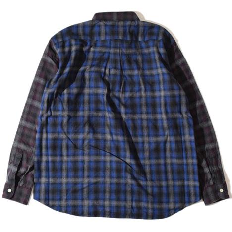 【ALDIES】Blow Nel Shirt(NAVY)