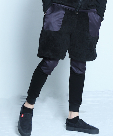 【VIRGO】UMA stretch boa pants