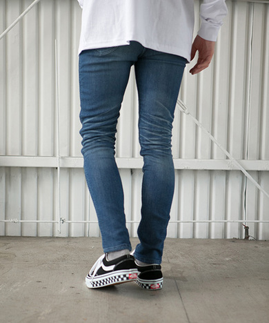 【SAY】VINTAGE SKINNY JOG DENIM