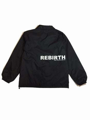 【NO TARGET ORIGINAL】REBIRTH COACH JACKET NAVY