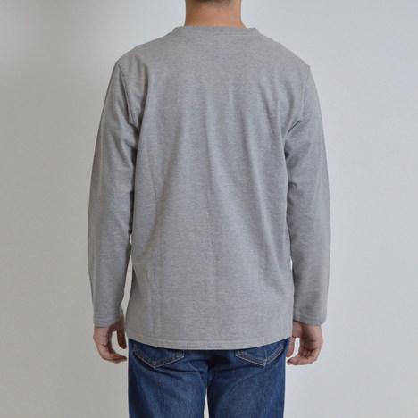 【MACOBER】ポケット長袖Tシャツ