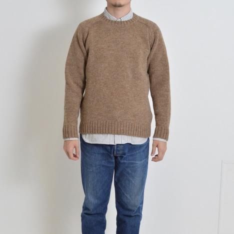 【SONTAKU】英国羊毛クルーネックセーター