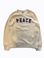 "【GO HEMP】""PEACE""CREW PK SWEAT"