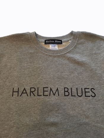 【NO TARGET ORIGINAL】HARLEM BLUES LOGO SWEAT
