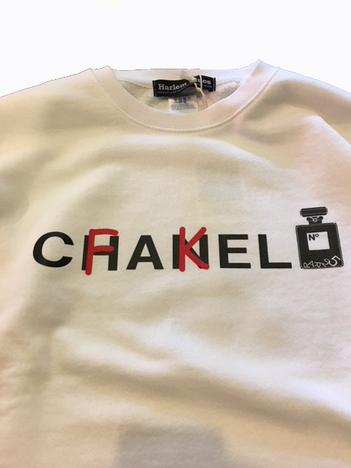【NO TARGET ORIGINAL】FAKE CHANNEL SWEAT