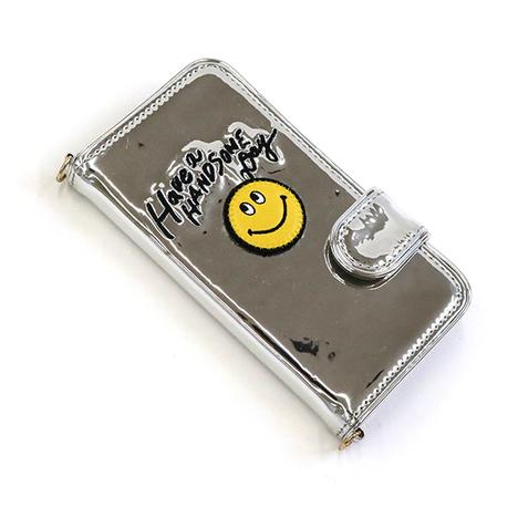 【ACCOMMODE】メタリックハンサムスマイルiPhoneケース