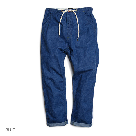 【GO HEMP】HARVESTER PANTS/SLUB NEP 11oz DENIM