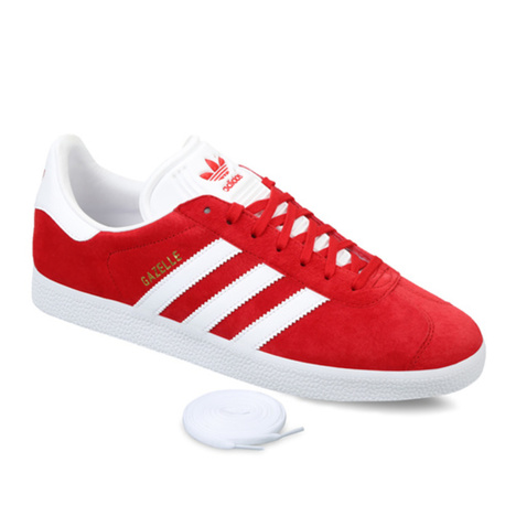 【adidas ORIGINALS】GAZELLE(RED)