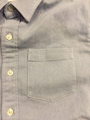 【LiSS】 STRECH DENIM SHIRTS