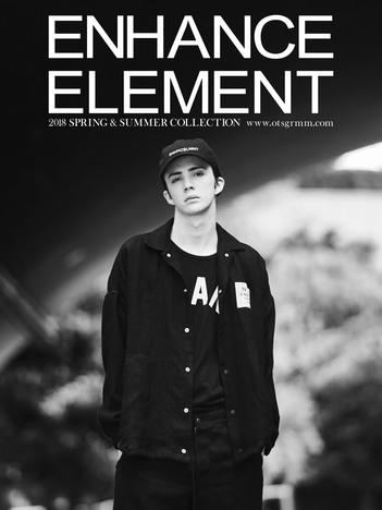 【ENHANCE ELEMENT】コットンキャップ