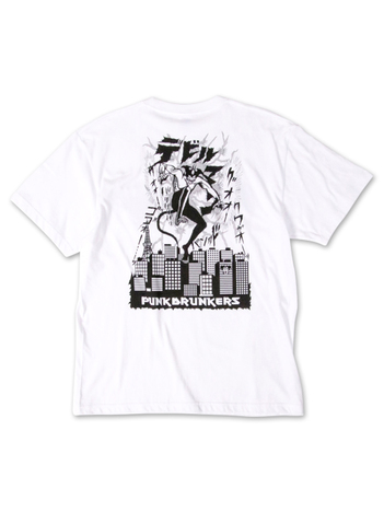 【PUNK DRUNKERS】xDEVIL MAN 襲来TEE