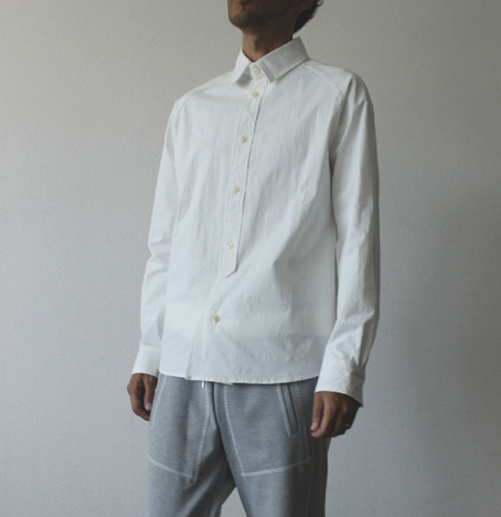 【LiSS】 COLOR TAB STRETCH SHIRT