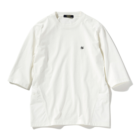 【narifuri】Durable N/C PlatingJersey 6分袖Tシャツ