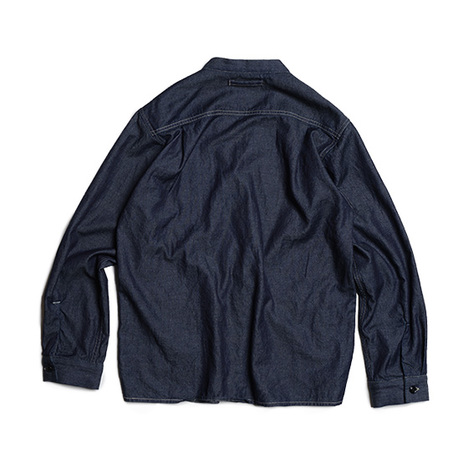【GO WEST】COMFORT CARDIGAN/7.5oz TOWEL DENIM