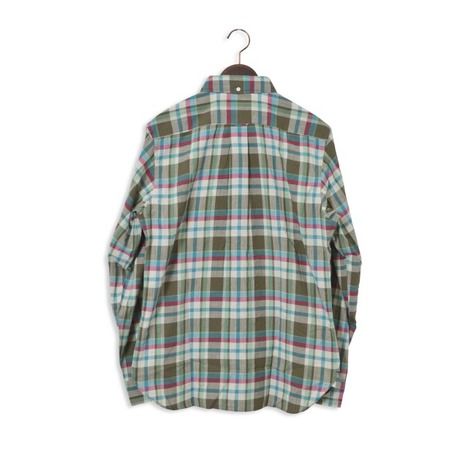 【SONTAKU】洗いざらしマドラスチェックBDシャツ