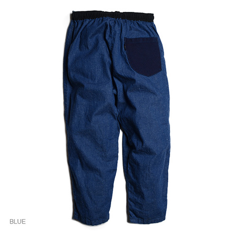 【GO HEMP】GOOD DAY PANTS/SLUB NEP 8oz DENIM