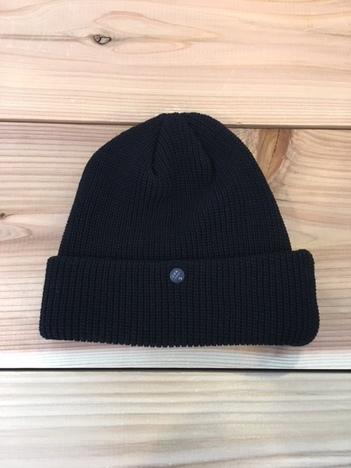 【C-PLUS HEAD WEARS】CUF KNIT CAP/UNI COLOR SHORT