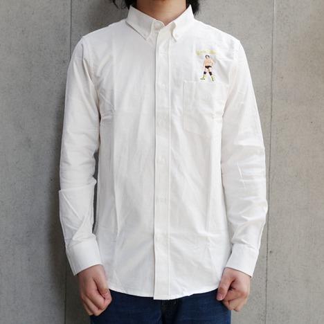 【HAOMING×天龍源一郎】ボタンダウンシャツ
