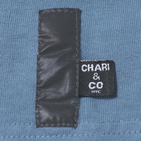 【CHARI&CO】REFLECTOR BOX LOGO TEE
