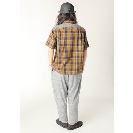 【GO HEMP】MON PANTS/HEAVY JERSEY