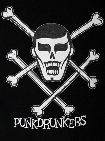 【PUNK DRUNKERS】精神的ダメージ半袖パーカ