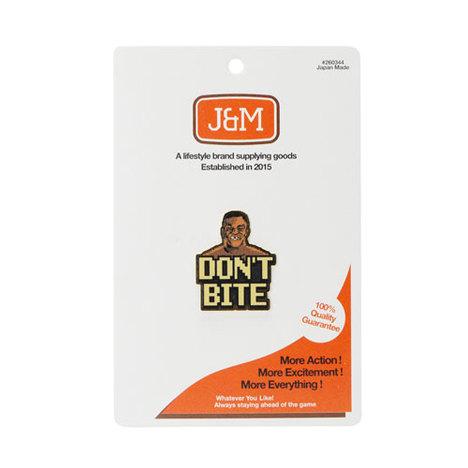 "【J&M】Lapel Pin ""8-bit mike"""