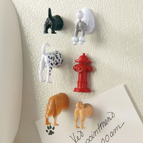 【KIKKERLAND】Dog Butt Magnets